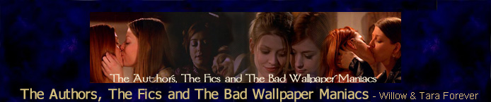 The Authors, The Fics, and The Bad Wallpaper Maniacs